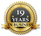 19years in business